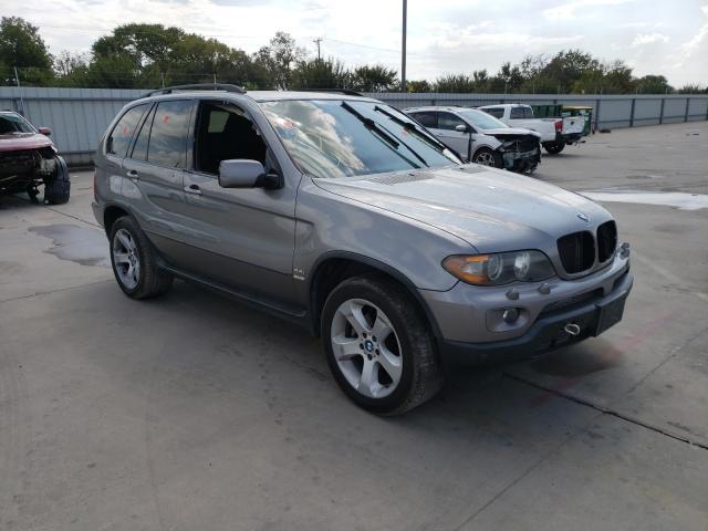 Vehiculos salvage en venta de Copart Wilmer, TX: 2006 BMW X5 4.4I