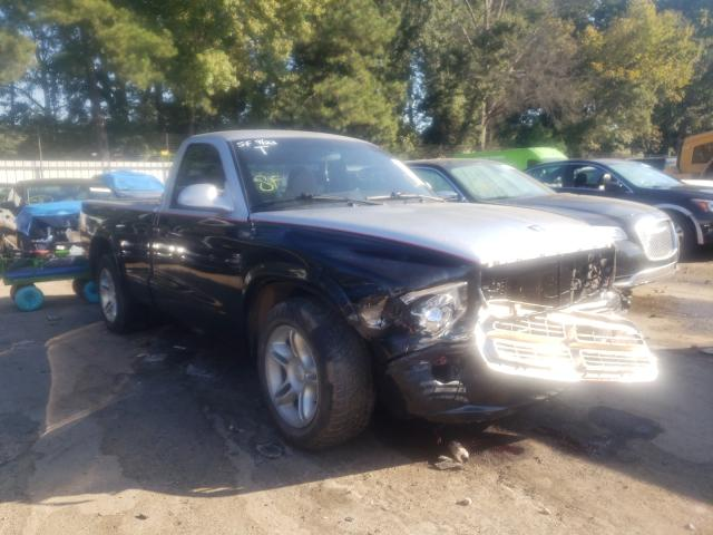 Salvage cars for sale from Copart Austell, GA: 2000 Dodge Dakota