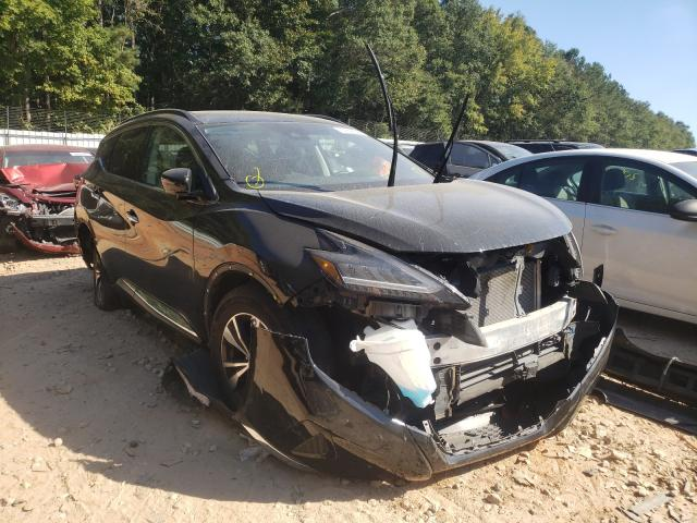 Salvage cars for sale from Copart Austell, GA: 2020 Nissan Murano SV