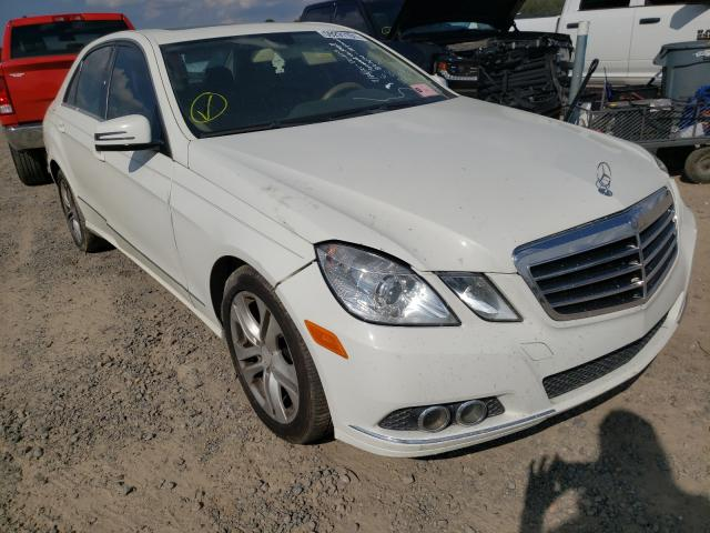 Salvage cars for sale at Conway, AR auction: 2011 Mercedes-Benz E 350 4matic