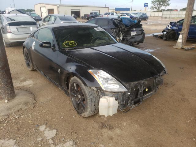 Salvage cars for sale from Copart Temple, TX: 2005 Nissan 350Z Coupe