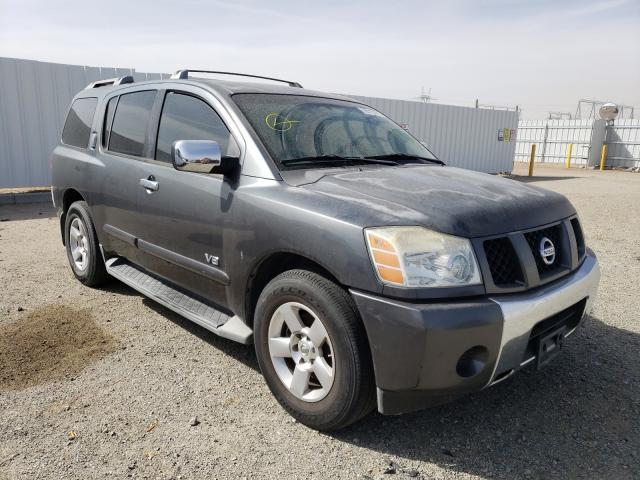 Nissan salvage cars for sale: 2007 Nissan Armada SE