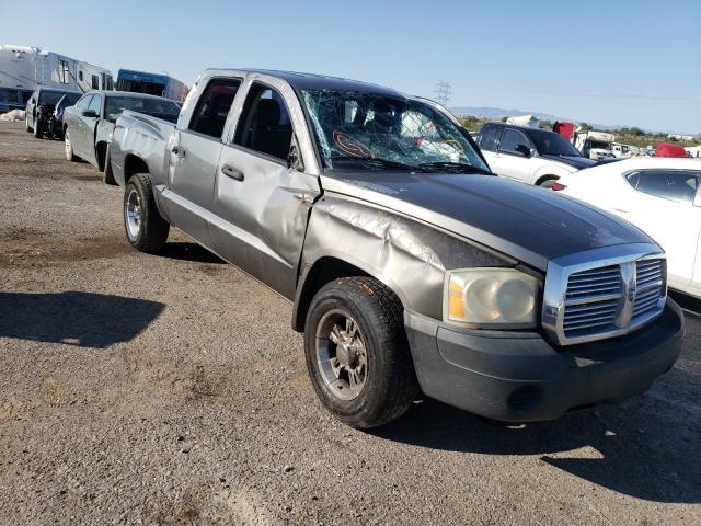Salvage cars for sale from Copart Tucson, AZ: 2005 Dodge Dakota Quattro