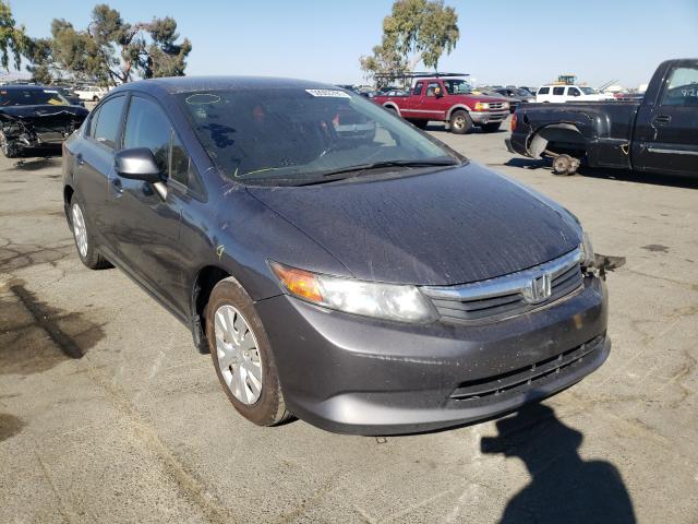 Vehiculos salvage en venta de Copart Martinez, CA: 2012 Honda Civic LX