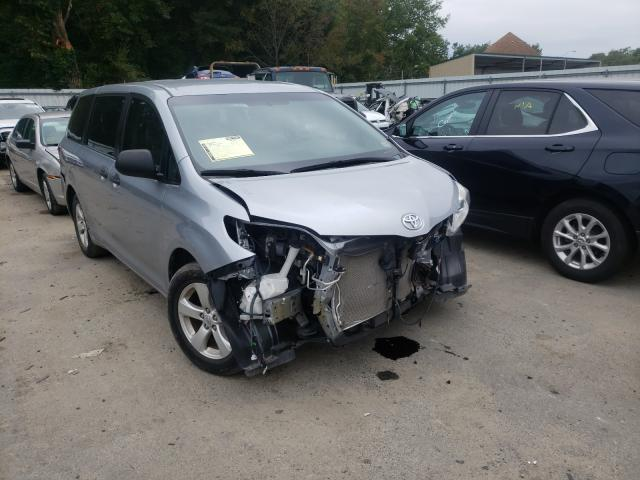 Salvage cars for sale from Copart Glassboro, NJ: 2015 Toyota Sienna