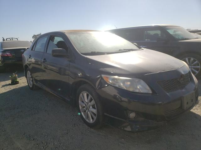 Salvage cars for sale from Copart Antelope, CA: 2009 Toyota Corolla BA