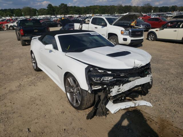 Salvage cars for sale at Conway, AR auction: 2019 Chevrolet Camaro SS