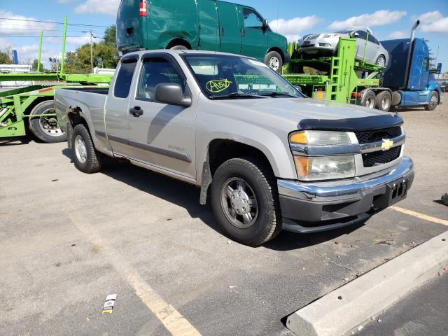 Salvage cars for sale at Columbia Station, OH auction: 2004 Chevrolet Colorado