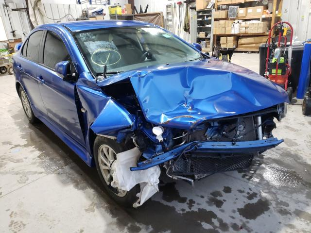 Salvage cars for sale from Copart Duryea, PA: 2012 Mitsubishi Lancer ES