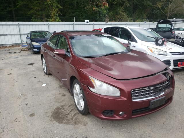 Salvage cars for sale from Copart Glassboro, NJ: 2010 Nissan Maxima S