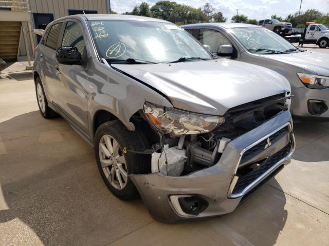 Vehiculos salvage en venta de Copart Wilmer, TX: 2015 Mitsubishi Outlander