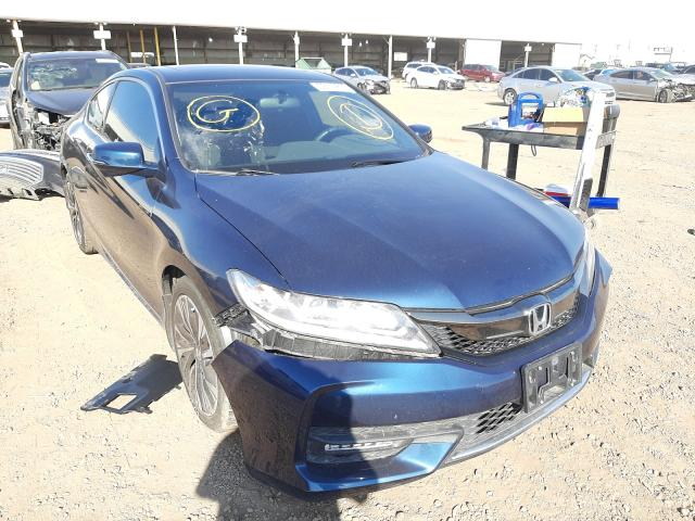 Salvage cars for sale from Copart Phoenix, AZ: 2016 Honda Accord EX