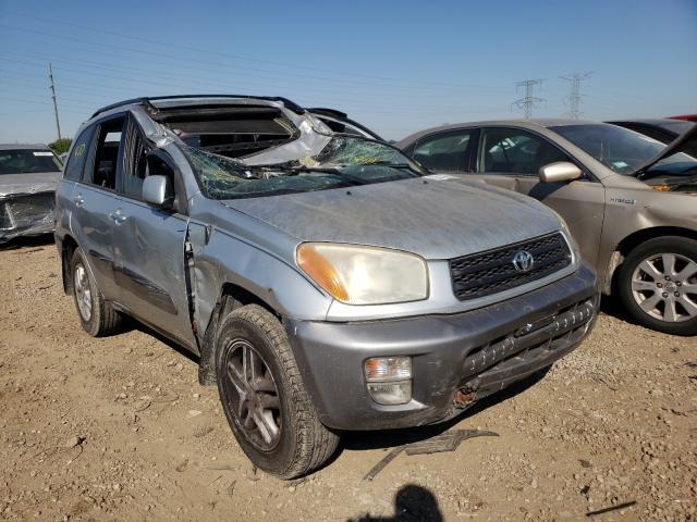 Toyota salvage cars for sale: 2001 Toyota Rav4