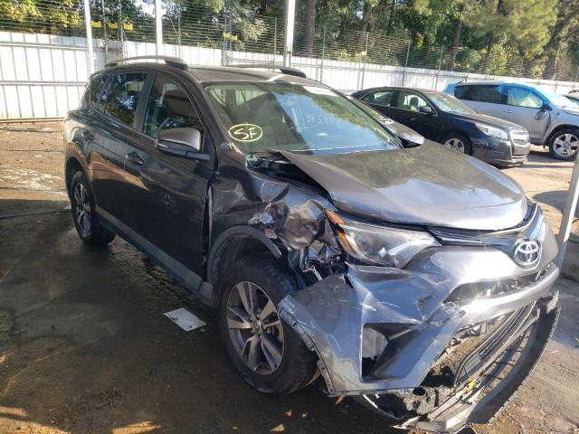 Salvage cars for sale from Copart Austell, GA: 2016 Toyota Rav4 XLE