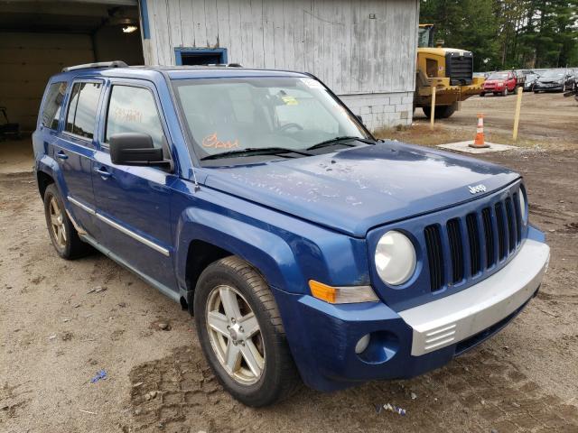Salvage cars for sale at Lyman, ME auction: 2010 Jeep Patriot LI