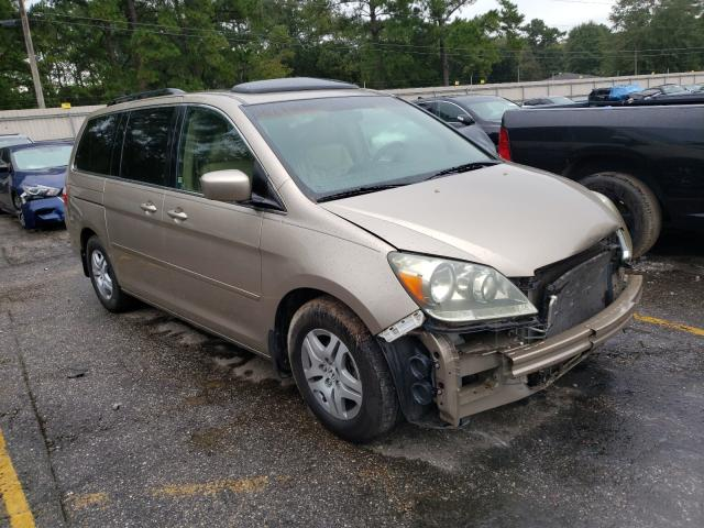 Honda salvage cars for sale: 2006 Honda Odyssey EX