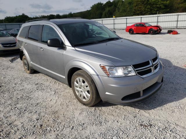 Salvage cars for sale at Prairie Grove, AR auction: 2018 Dodge Journey SE