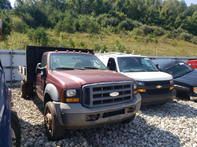 Salvage cars for sale from Copart Hurricane, WV: 2006 Ford F450 Super