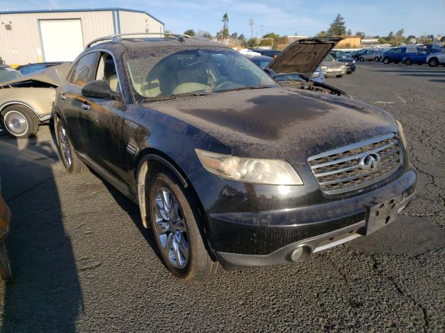 Salvage cars for sale from Copart Vallejo, CA: 2006 Infiniti FX45