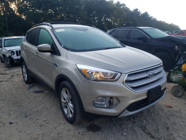 Vehiculos salvage en venta de Copart Austell, GA: 2018 Ford Escape SEL