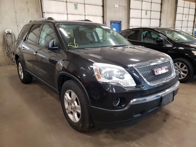 Salvage cars for sale from Copart Blaine, MN: 2010 GMC Acadia SL