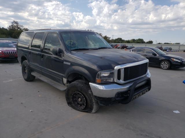 Vehiculos salvage en venta de Copart Wilmer, TX: 2002 Ford Excursion