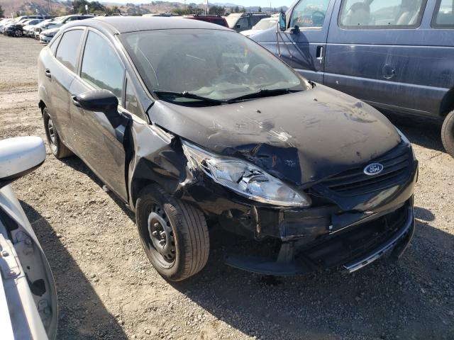 Salvage cars for sale from Copart San Martin, CA: 2011 Ford Fiesta S
