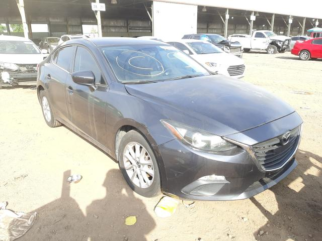 Salvage cars for sale from Copart Phoenix, AZ: 2016 Mazda 3 Sport