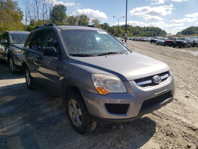 Salvage cars for sale from Copart Northfield, OH: 2009 KIA Sportage L
