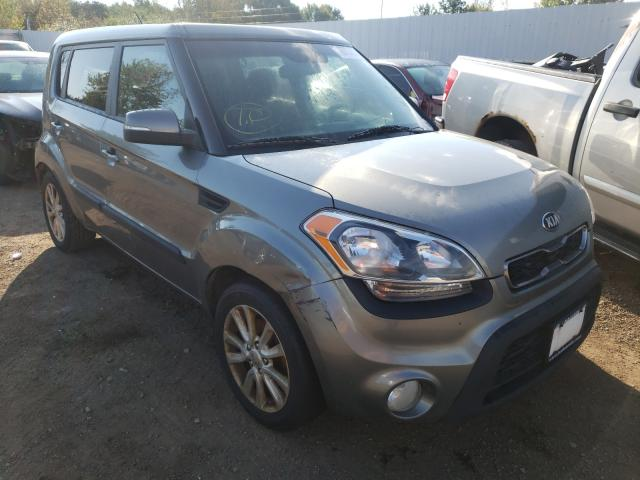 Salvage cars for sale at Columbia Station, OH auction: 2013 KIA Soul +