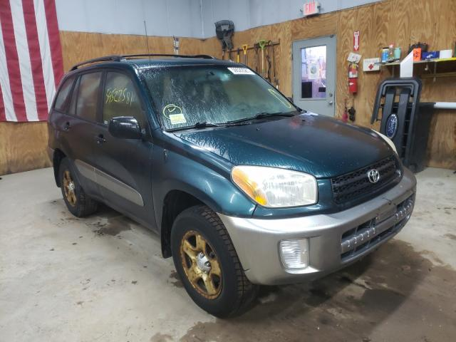 Salvage cars for sale from Copart Kincheloe, MI: 2003 Toyota Rav4