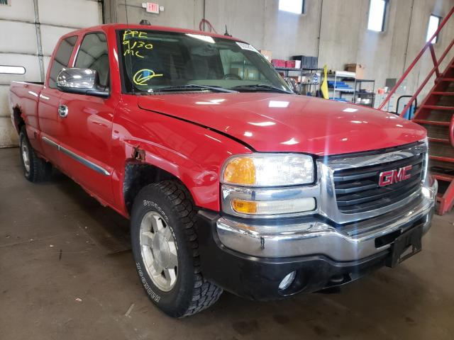 Salvage cars for sale from Copart Blaine, MN: 2005 GMC New Sierra