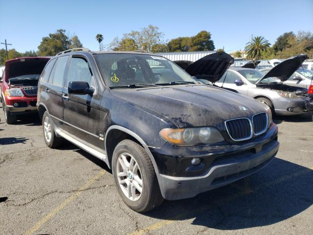 Salvage cars for sale from Copart Vallejo, CA: 2005 BMW X5 3.0I