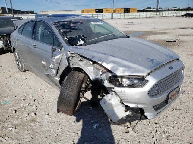 Salvage cars for sale from Copart Columbus, OH: 2015 Ford Fusion SE