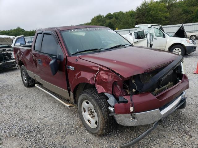 Salvage trucks for sale at Prairie Grove, AR auction: 2004 Ford F150