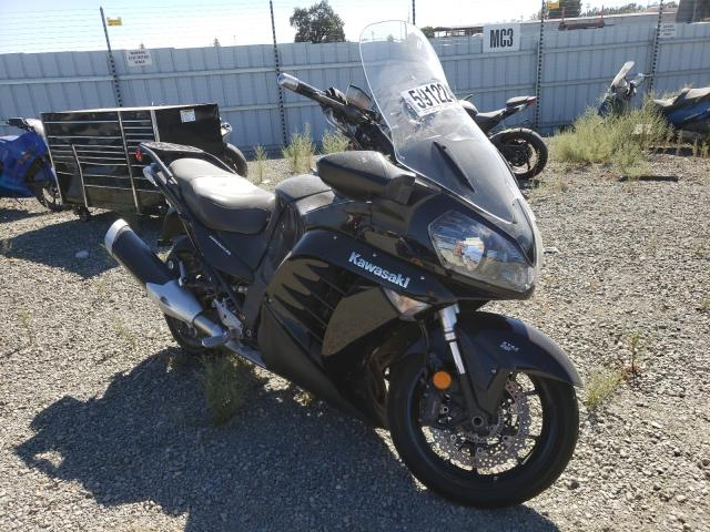 Salvage cars for sale from Copart Antelope, CA: 2012 Kawasaki ZG1400 C