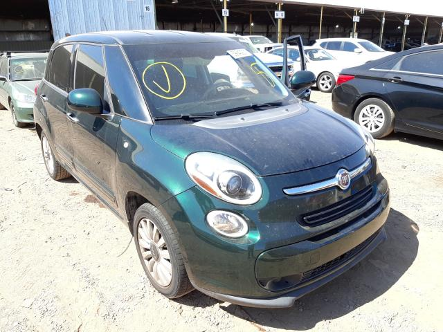 Salvage cars for sale from Copart Phoenix, AZ: 2014 Fiat 500L Easy