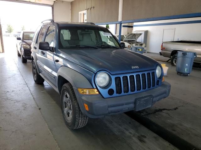 Salvage cars for sale from Copart Pasco, WA: 2006 Jeep Liberty SP