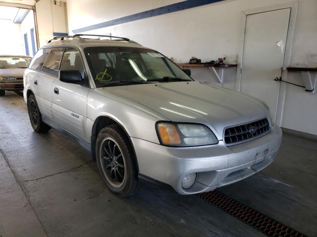 Salvage cars for sale from Copart Pasco, WA: 2004 Subaru Legacy Outback
