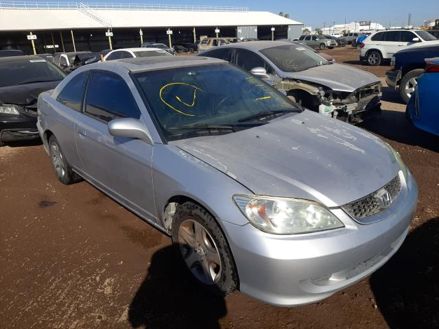 Salvage cars for sale from Copart Phoenix, AZ: 2004 Honda Civic EX