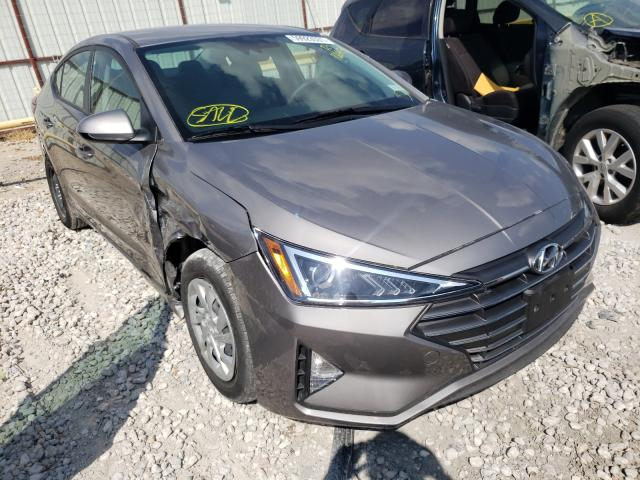 Salvage cars for sale from Copart Haslet, TX: 2020 Hyundai Elantra SE
