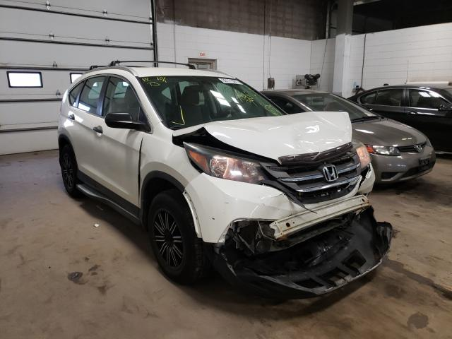 Salvage cars for sale from Copart Blaine, MN: 2013 Honda CR-V LX