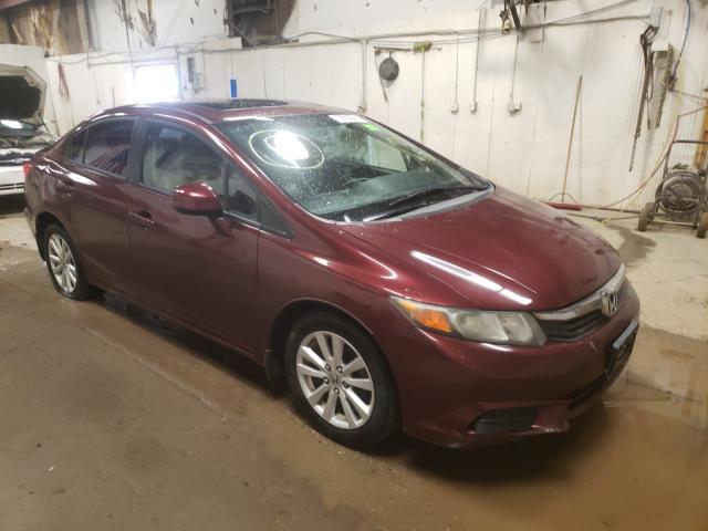 2012 Honda Civic EXL en venta en Casper, WY