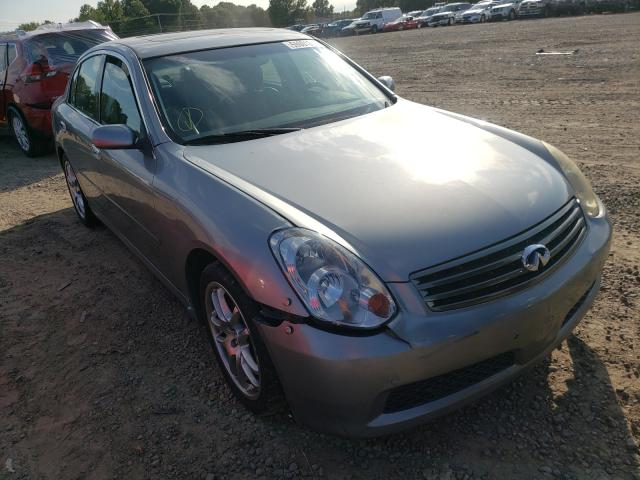 Salvage cars for sale at Conway, AR auction: 2005 Infiniti G35