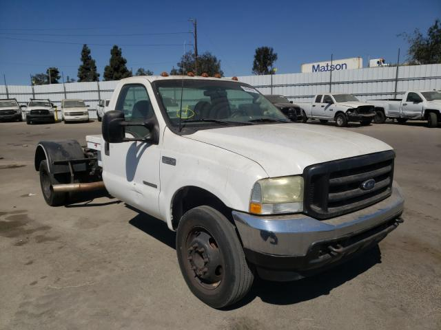 Salvage cars for sale from Copart Sun Valley, CA: 2002 Ford F550 Super