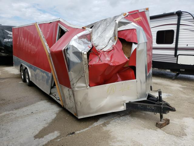 Salvage cars for sale from Copart New Orleans, LA: 2012 Hurricane Trailer