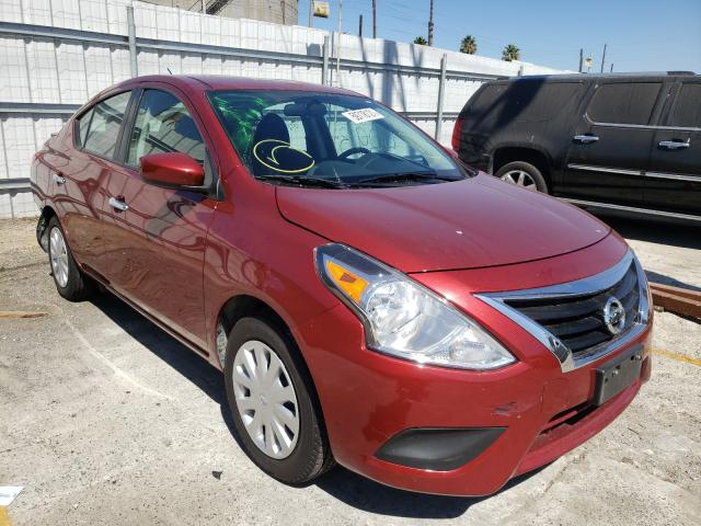 Salvage cars for sale from Copart Wilmington, CA: 2019 Nissan Versa S