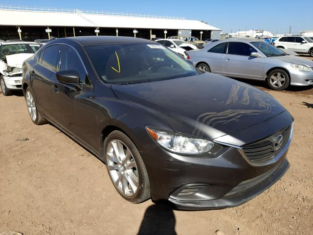 Salvage cars for sale from Copart Phoenix, AZ: 2017 Mazda 6 Touring