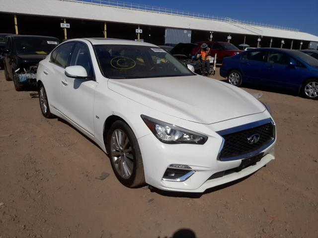 Salvage cars for sale from Copart Phoenix, AZ: 2020 Infiniti Q50 Pure