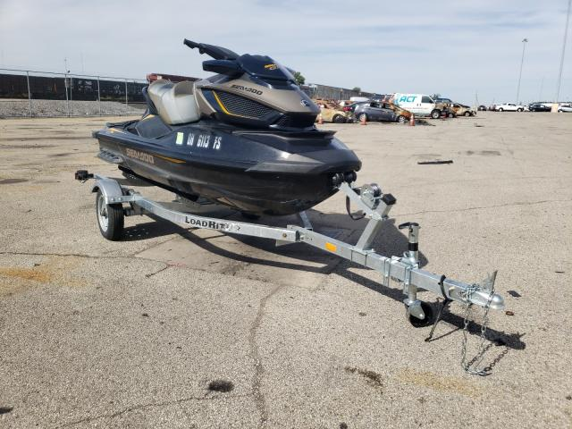Salvage boats for sale at Moraine, OH auction: 2017 Seadoo Jetski
